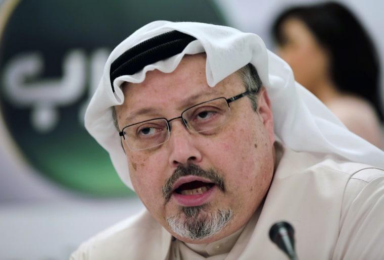 Image: Saudi journalist Jamal Khashoggi