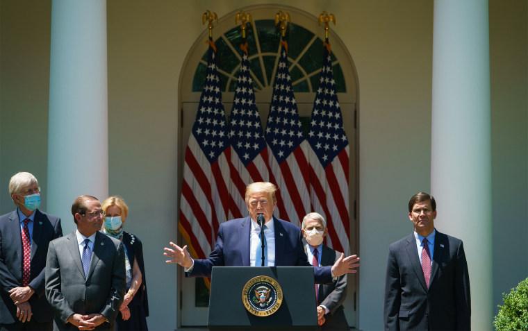Image: US-health-virus-politics-TRUMP
