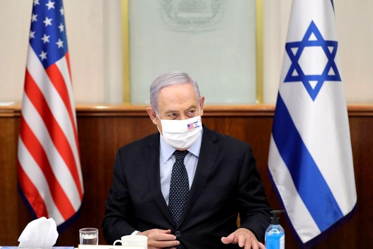 Image: ISRAEL-US-DIPLOMACY