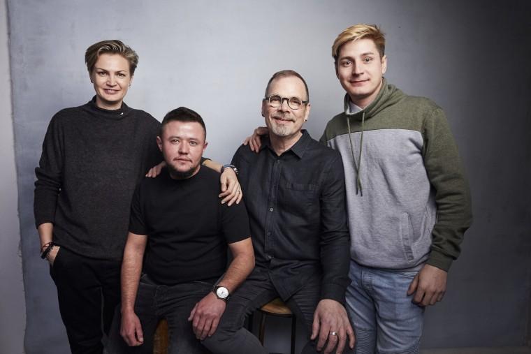 Image: Olga Baranova, David Isteev, David France, Maxim Lapunov