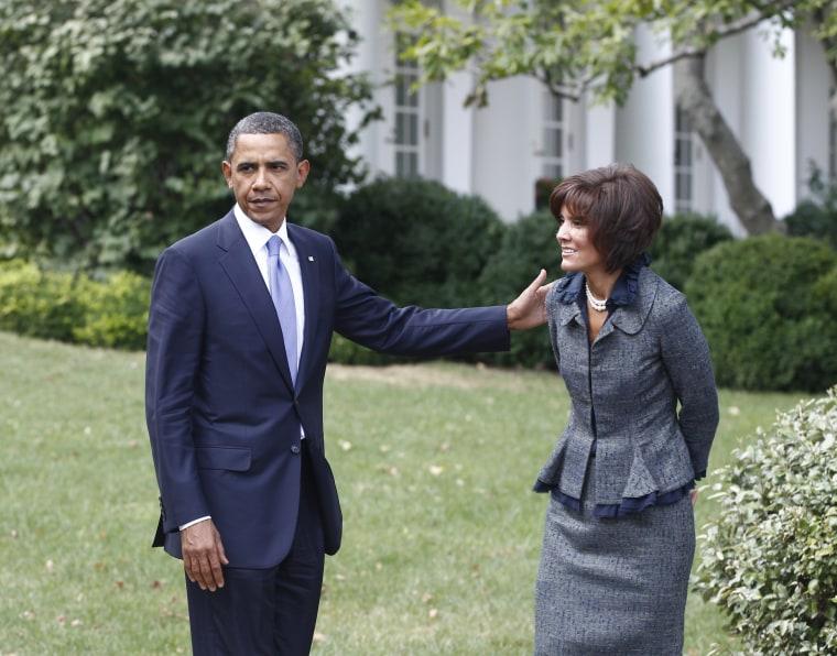 Barack Obama, Capricia Marshall