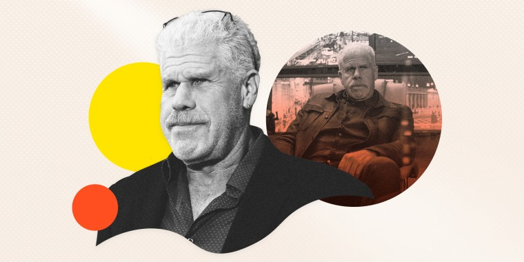 "Image: Ron Perlman stars in ""The Capture,"" available on NBC's ""Peacock"" streaming service."