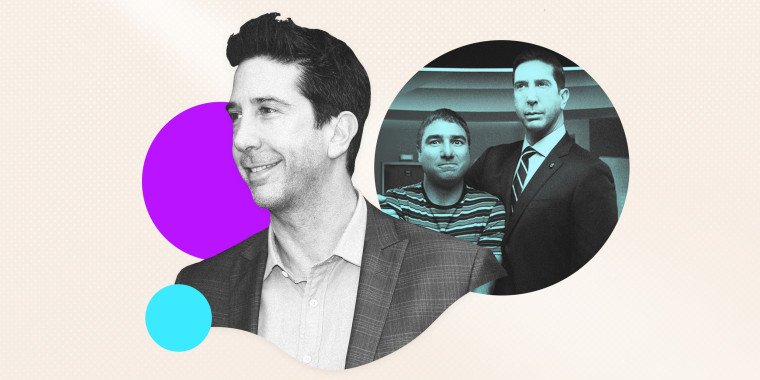 """David Schwimmer stars in """"Intelligence,"""" available on NBC's """"Peacock"""" streaming service."""