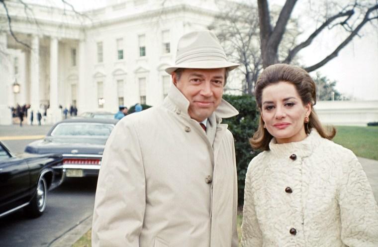 NBC News- 1st Presidential Inauguration of Richard Nixon