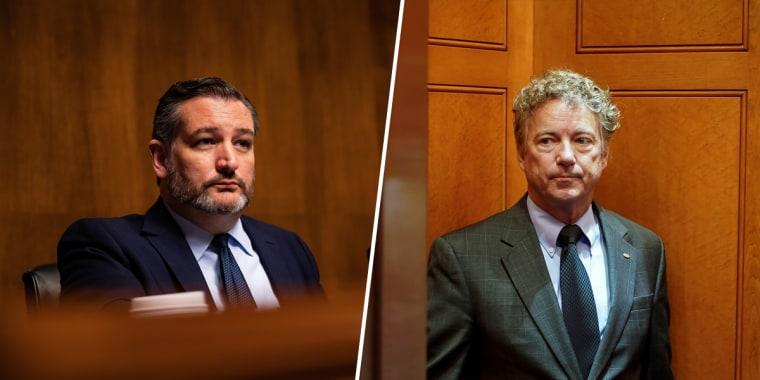 Sen. Ted Cruz; Sen. Rand Paul.