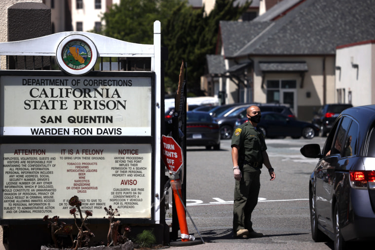 Image: Coronavirus Cases Surge To Over A Thousand At San Quentin Prison