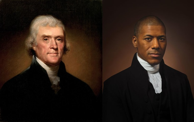 Image: Shannon LaNier, a TV news anchor, has complex feelings about being descended from Thomas Jefferson and Sally Hemings.