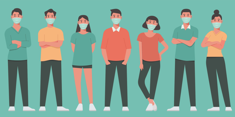 Talk to your teens about how their exposure to the virus might affect those around them.