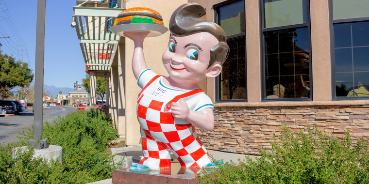 Big Boy has been the fast-food chain's mascot for 84 years.