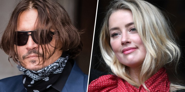 Exes Johnny Depp and Amber Heard arrive separately at the Royal Courts of Justice in London, England, on July 9, 2020.