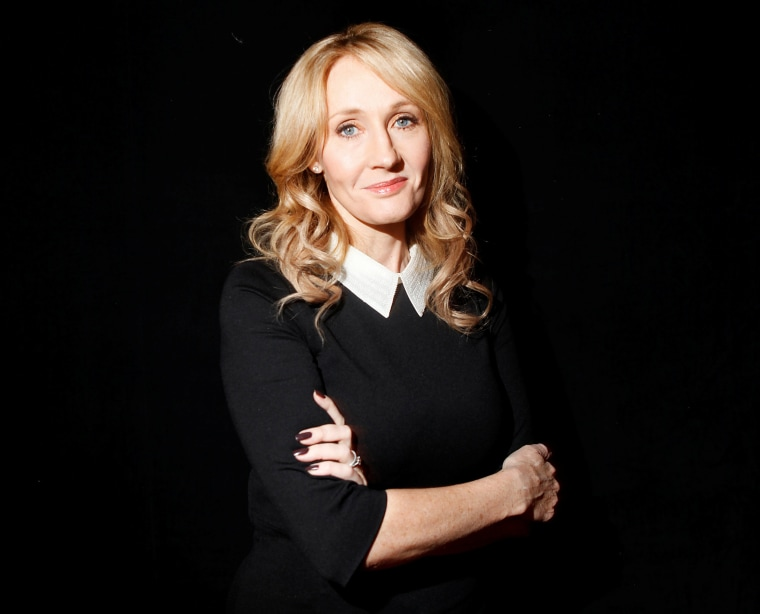 """Author J.K. Rowling poses for a portrait while publicizing her adult fiction book """"The Casual Vacancy"""" at Lincoln Center on Oct. 16, 2012, in New York."""