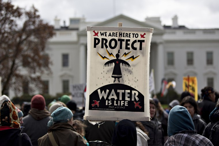 Standing Rock Sioux Tribe Holds Rally In Opposition To Dakota Access Pipeline