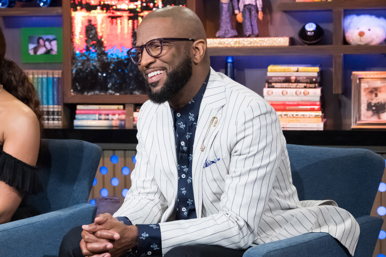 Comedian Rickey Smiley makes an appearance on Watch What Happens Live with Andy Cohen in 2018.