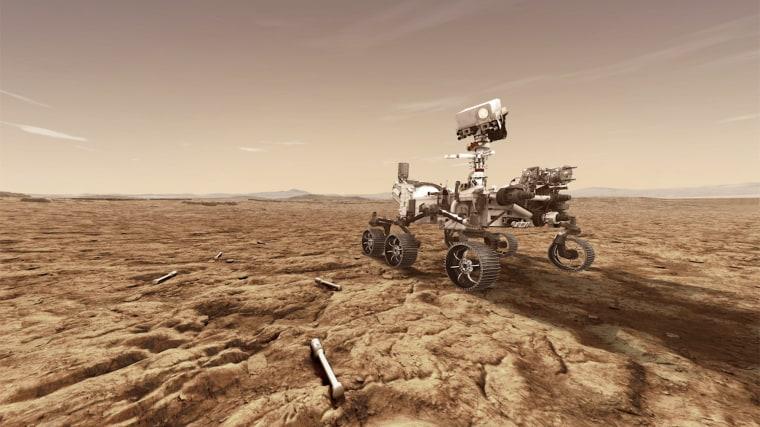 Image: NASA's Mars 2020 rover