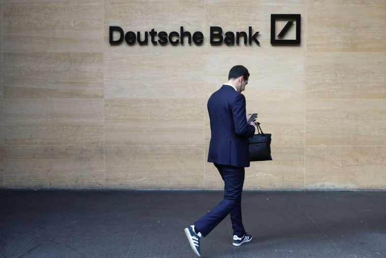 Image: Deutsche Bank office in London