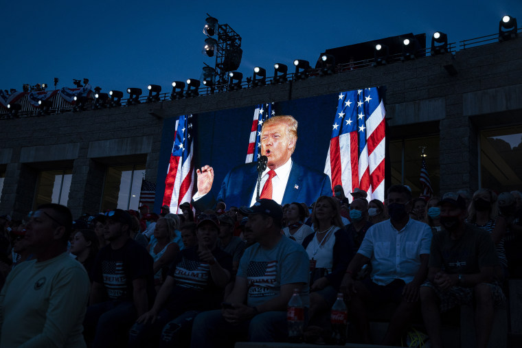 President Trump Speaks During Fourth Of July Celebrations At Mount Rushmore