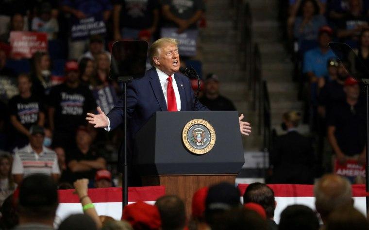 Image: Donald Trump Tulsa