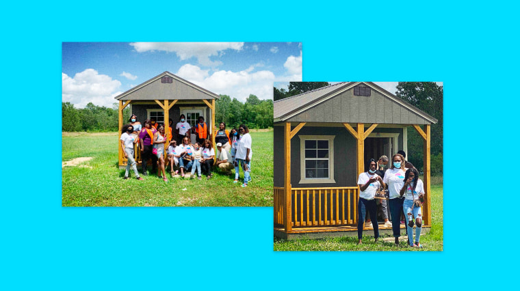 Image: My Sistah's House provides tiny home housing, with help from builders Mid South Sheds, for LGBTQ people in the Mid-South.