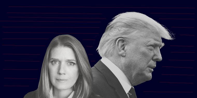 Mary L. Trump and Donald Trump.