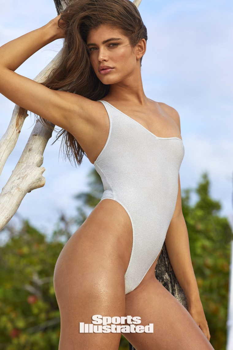 Valentina Sampaio for Sports Illustrated Swimsuit 2020 on sale July 21.