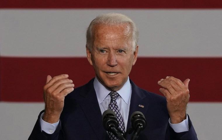 Image: US-POLITICS-BIDEN-VOTE-INDUSTRY