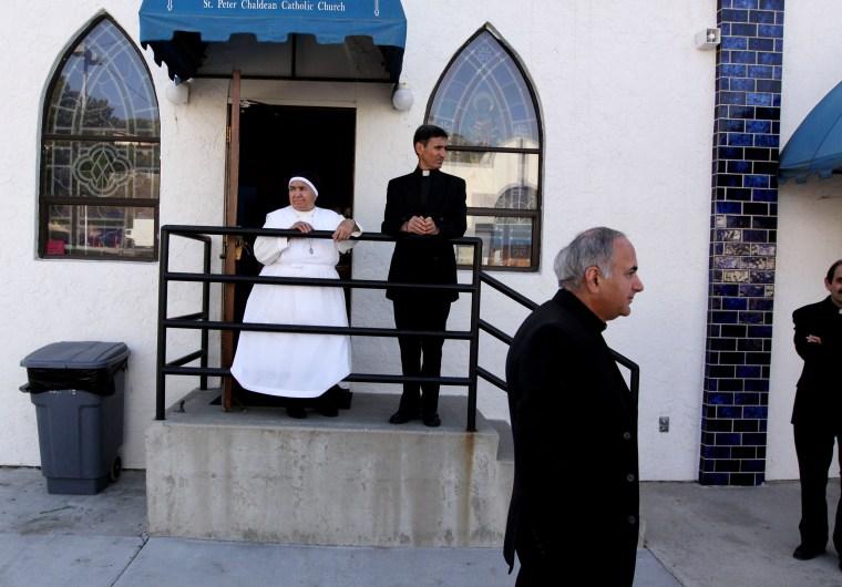 Image: Iraqi Chaldeans Seek Asylum in the United States