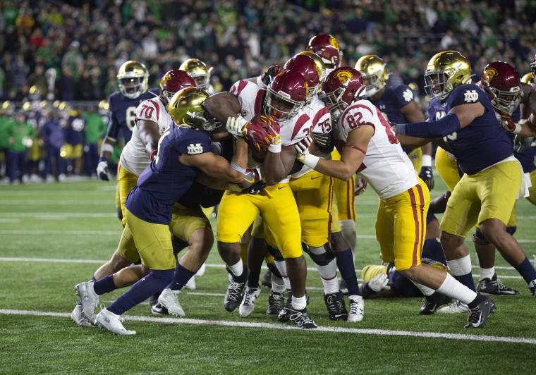 Image: USC vs Notre Dame