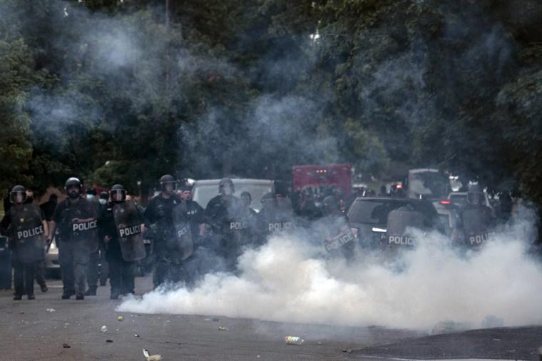 Image: Detroit protest