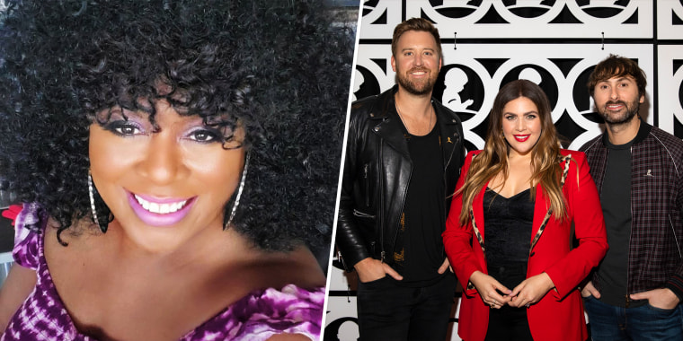 Blues singer Anita White, aka Lady A, says she was bullied by the country act once called Lady Antebellum.