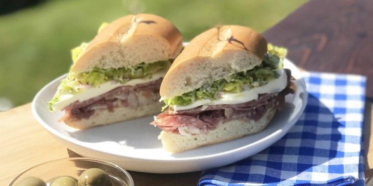 """Donatella Arpaia's Elevated Italian """"Sub"""" Sandwich"""