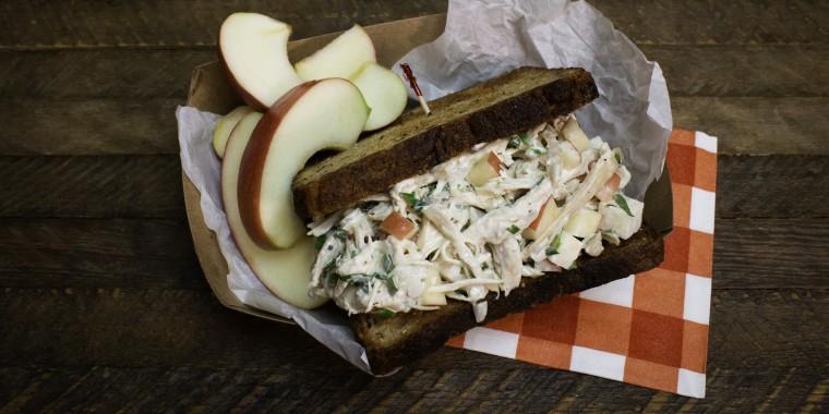Joy Bauer's Tarragon Chicken Salad Sandwich