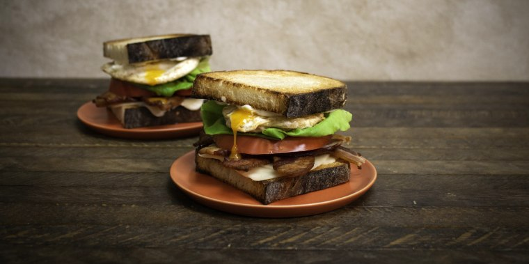 Thomas Keller's BLT Fried Egg and Cheese Sandwich