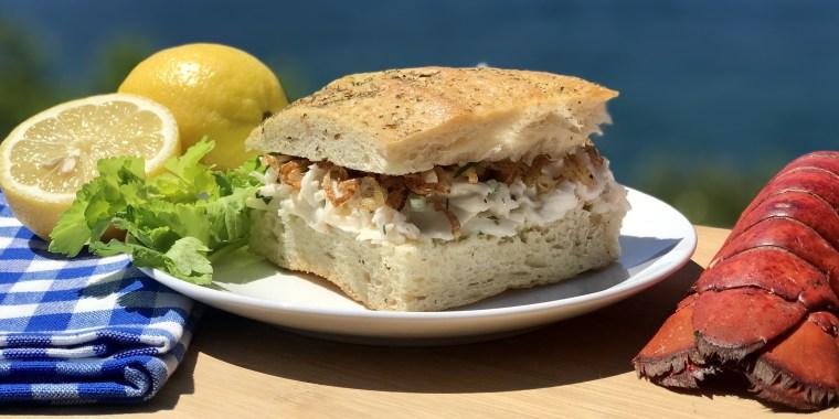 Justin Smillie's Lobster Salad Sandwich