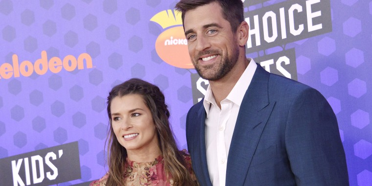 Former race car driver Danica Patrick and Green Bay Packers quarterback Aaron Rodgers have split up after dating for more than two years.