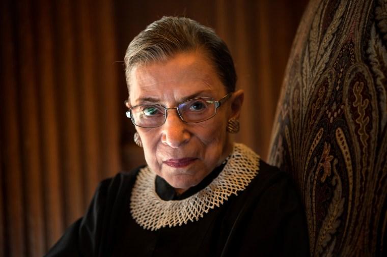 Image: Supreme Court Justice Ruth Bader Ginsburg