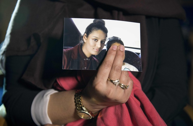 Image: Picture of Shamima Begum