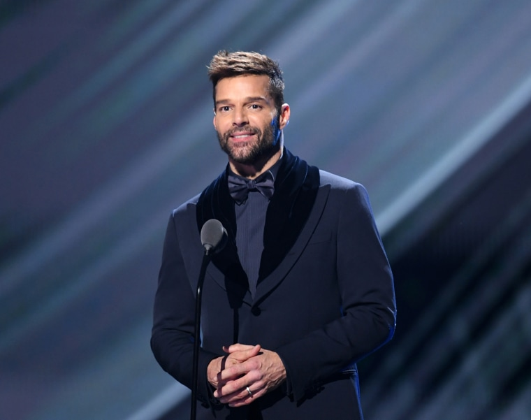 Ricky Martin presents the Album of The Year Award onstage during the 20th annual Latin Grammy Awards in Las Vegas on Nov. 14, 2019 in Las Vegas, Nevada.
