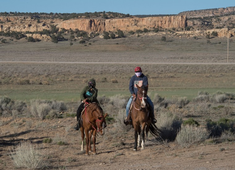 Image: Navajo Nation, US-HEALTH-VIRUS-NAVAJO