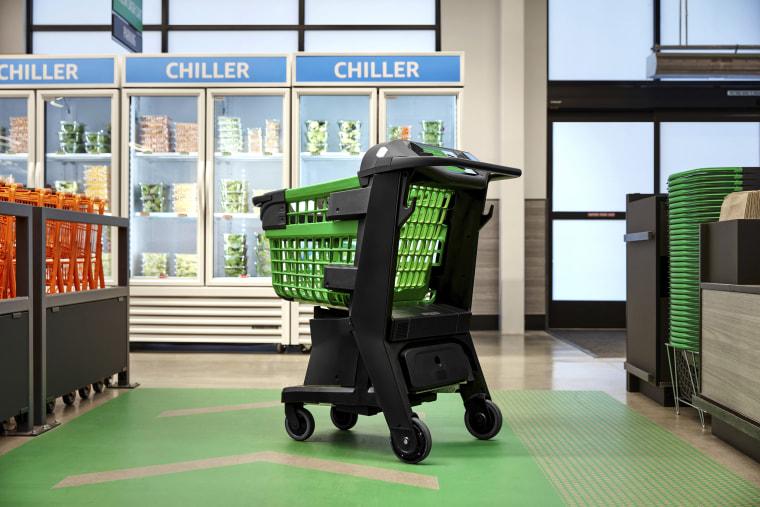 Image: Amazon smart shopping cart