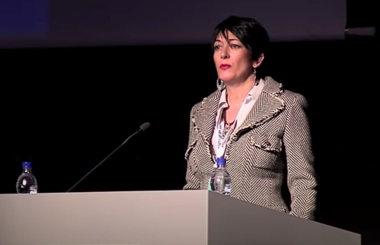 Ghislaine Maxwell speaks at the Arctic Circle Forum in Reykjavik in 2013.