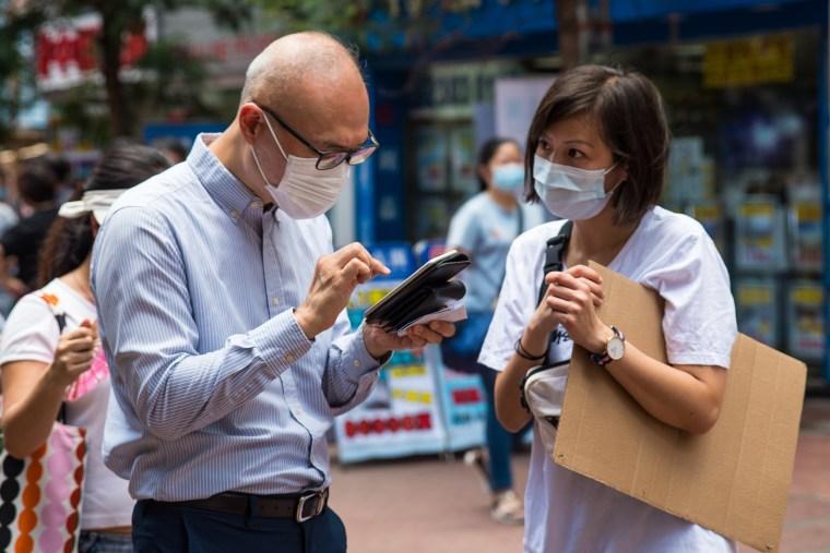 Pro-Democracy Activists Hold Primaries Ahead Of Hong Kong's Legislative Election