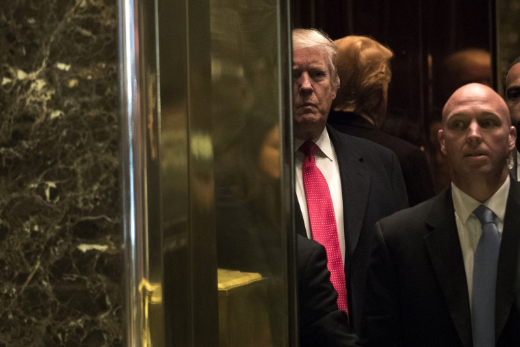 Image: President-Elect Donald Trump Holds Meetings At Trump Tower