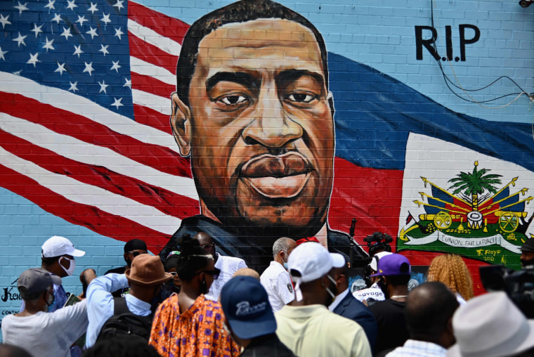 Image: TOPSHOT-US-POLITICS-RACISM-MEMORIAL