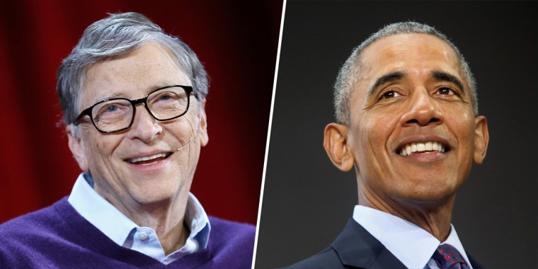 Image: Bill Gates and Barack Obama