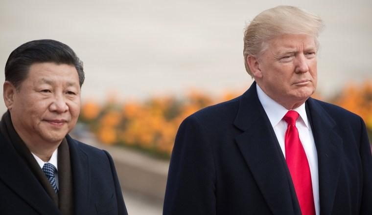 Image: Donald Trump, Xi Jinping, CHINA-US-DIPLOMACY