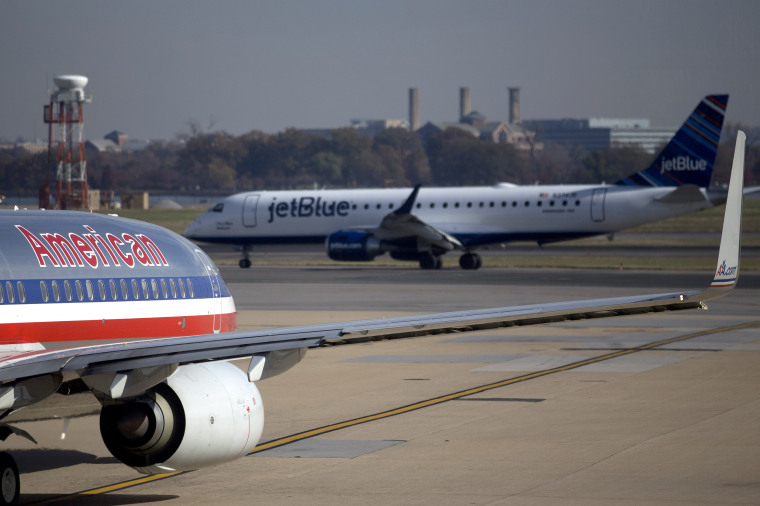 Image: American Airlines Jetblue