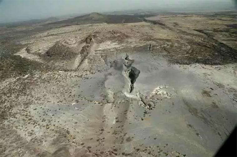Image: The rift in Afar, Ethiopia