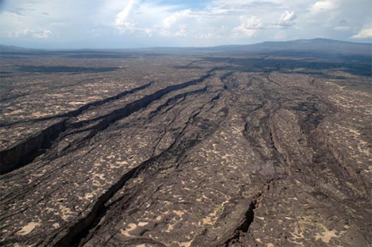 Image: The rift in Afar, Ethiopia.