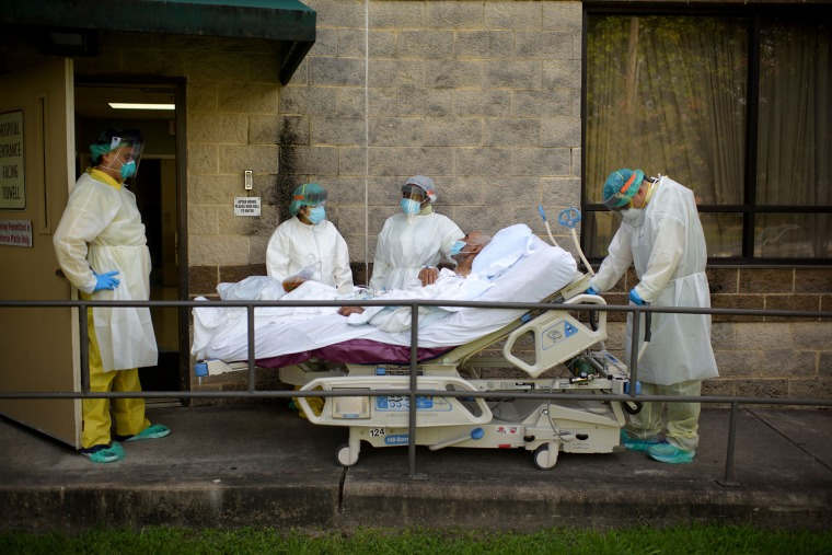 Image: US-HEALTH-VIRUS-HOSPITAL-PANDEMIC-COMMUNITIES
