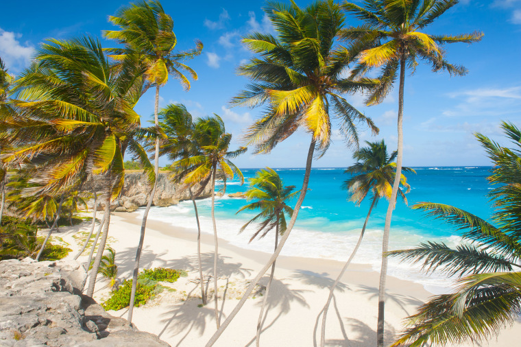 Image: Bottom Bay is one of the most beautiful beaches on the Caribbean island of Barbados.